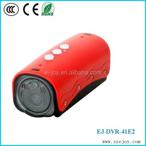 1080P 120 Degree Waterproof 20M Cycling,motor racing,Hiking,Skiing video camcorder hidden portable hidden dvr 1080P 41E2