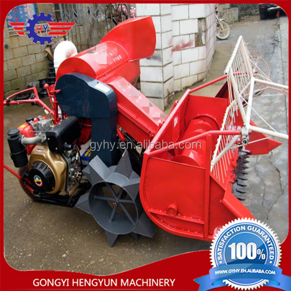2015 hot sale small harvester/wheat reaping equipment
