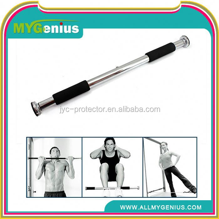 adjustable door bar hot sale ,H0T026 portable pull up bar , fitness equipment power door gym
