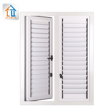 exterior custom exterior metal aluminum window louvers house window sound proof facade louvers for building