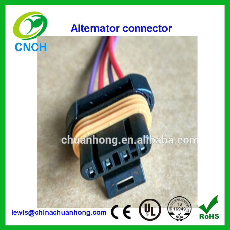 Alternator Wiring Harness Connector Pigtail 98 02 alternator wiring harness connector pigtail 98 02 ls1 gm camaro alternator wire harness connector at nearapp.co