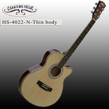 40inch Thin Body Natural Color Acoutic Guitar Buy Acoustic Guitar