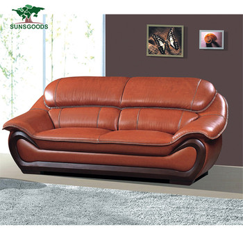 Alibaba China Supplier Modern Orange Color Leather Sofa,Original Leather  Sofa Set - Buy Original Leather Sofa Set,Modern Orange Color Leather ...
