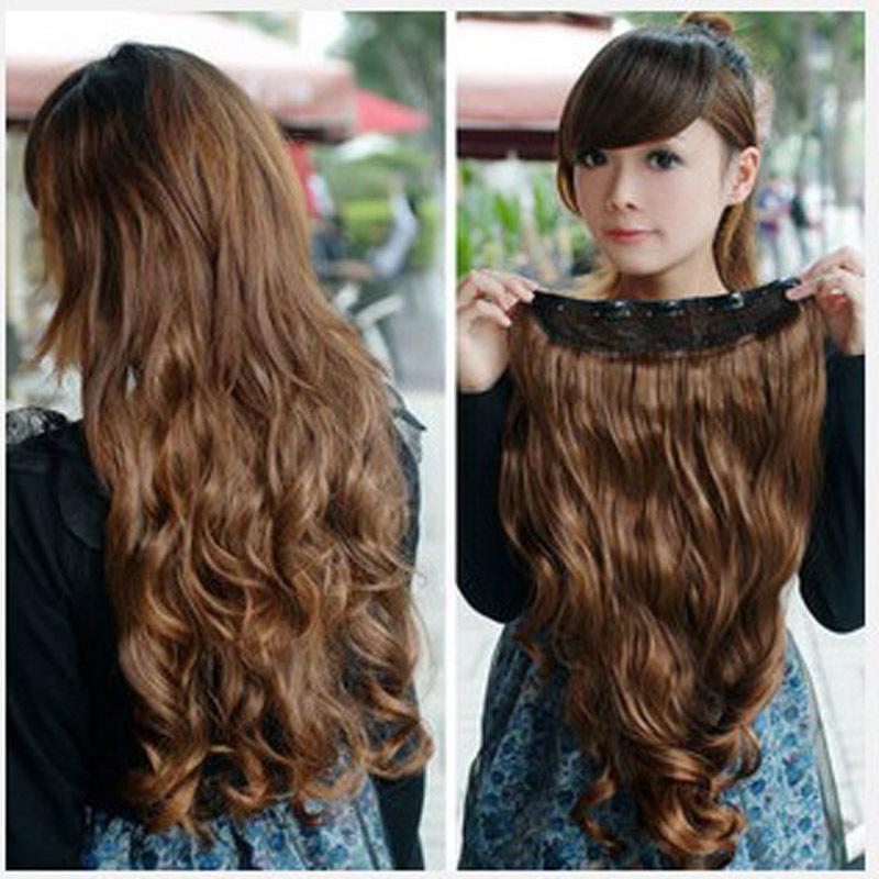 Big Curled Long Hair Long Big Spiral Curl Wave