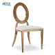 Classic Metal Gold Stackable Event Party Wedding Chair for sale