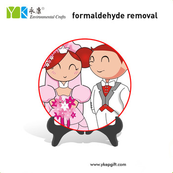 Wholesale Creative Table Decoration Cartoon Lovely Bride And Groom