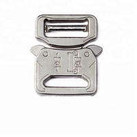 Sliver Brush Quick Release 27mm Wide Alloy Tactical Cobra Buckle