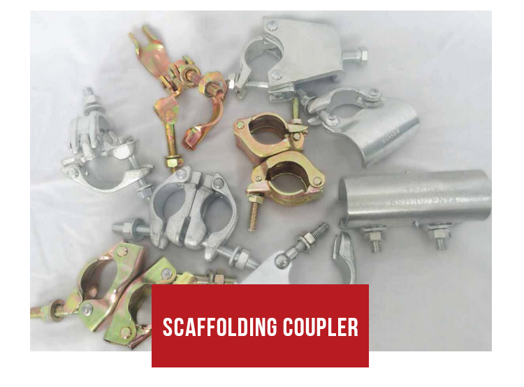 TECON Q235 Pressed Double Scaffolding Couplers For Shoring Systems