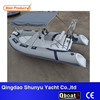 CE certificate korea pvc material outboard motor rigid inflatable boat for sale
