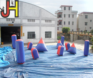 Commercial Grade Inflatable Paintball Bunker for Sports Game, Paintball China