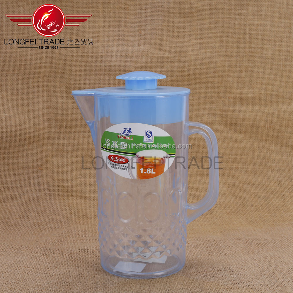 daily expenses 1.75L with plastic Handle&Lock plastic kettle