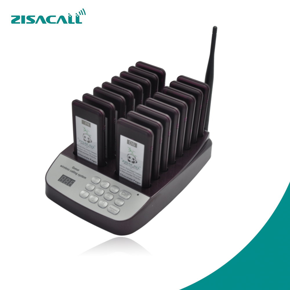 ZISACall restaurant call systeem kelneroproep klant coaster pager