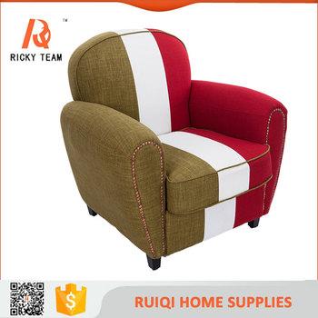 Soft Sofa Fabric High Back Dining Chair