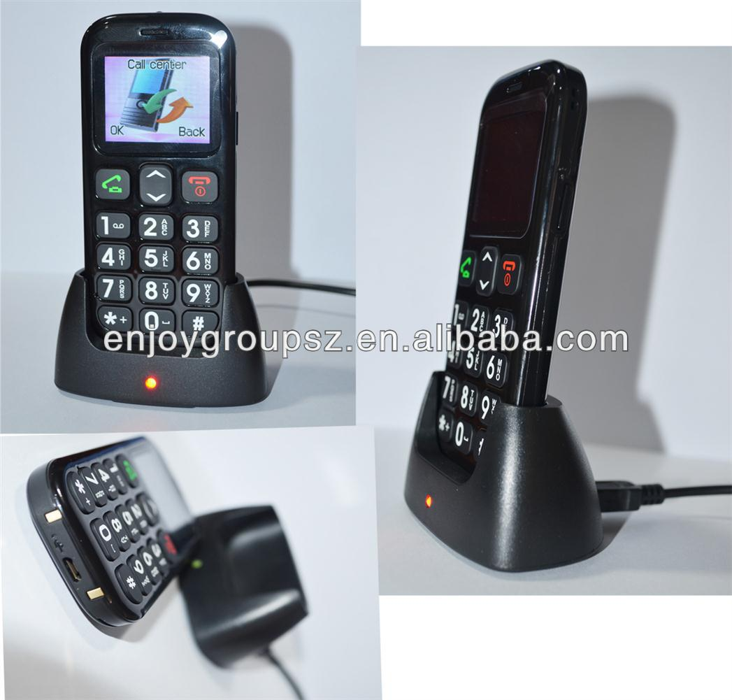 1.77inch Sim Card Gsm Cordless Landline Mobile Phone