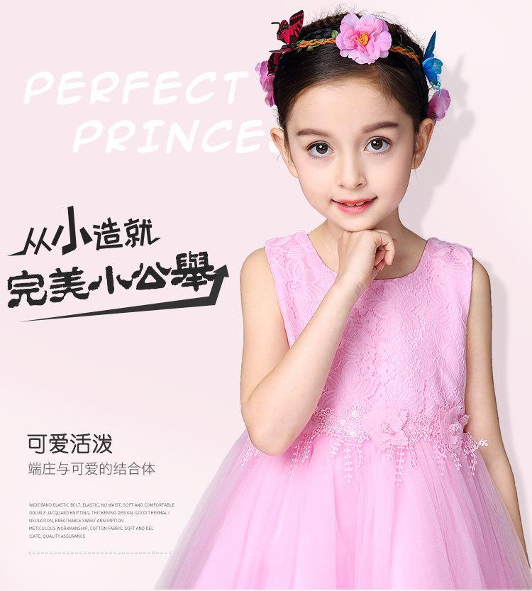 Nuevo modelo casual vestidos niñas ropa para niños verano desgaste ...