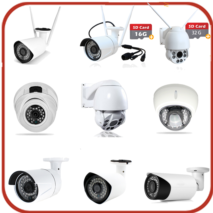 Low cost surveillance top 10 high quality latest new wireless ip wifi sd card ptz outdoor network camera