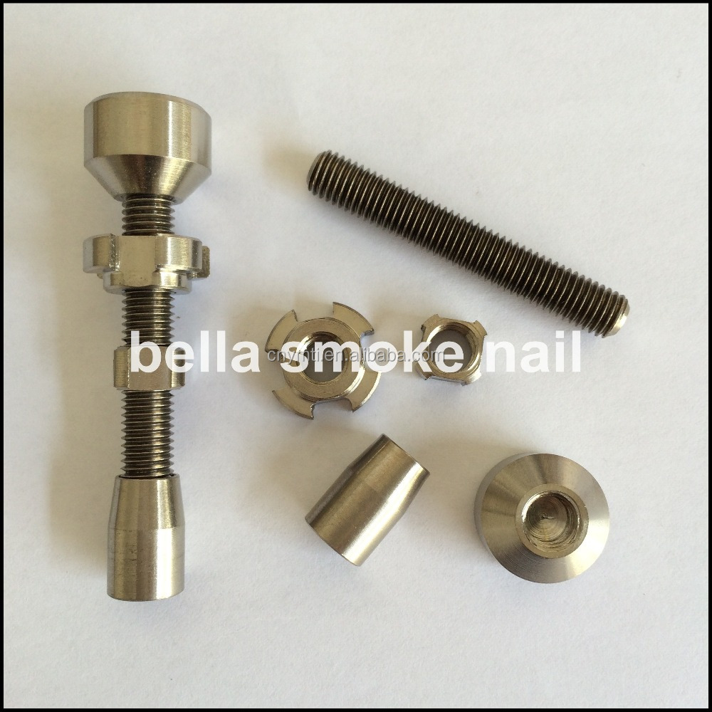original version- 14mm&18mm double jointed adjustable titanium nail