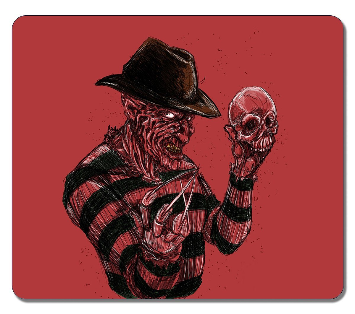 Art Mouse Pads Customized Freddy Krueger A Nightmare On Elm Street High Quality Eco Friendly Mouse Mat Cute Gaming Mouse pad