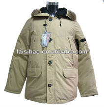 2012 cheap shiny quilted men padded jacket for winter