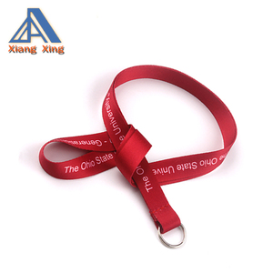 wholesale Cheap promotional sublimation lanyard long keychain lanyards
