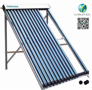 2016 hot sell sun solar water heater collectors pressure collector