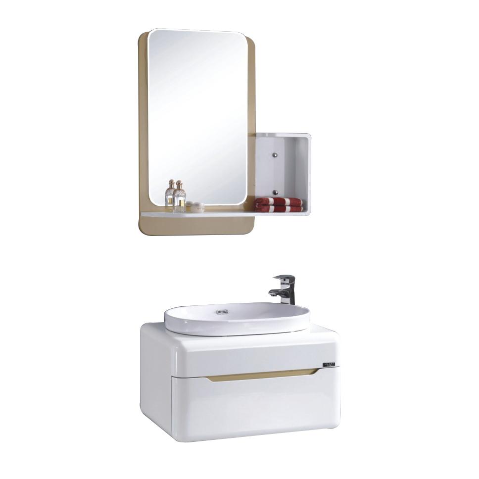 Cheap Chinese Furniture Plastic Vanity Mirror Wash Basin