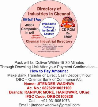 Database Directory List Of Industries In Chennai - Buy Database Directory  List Product on Alibaba com