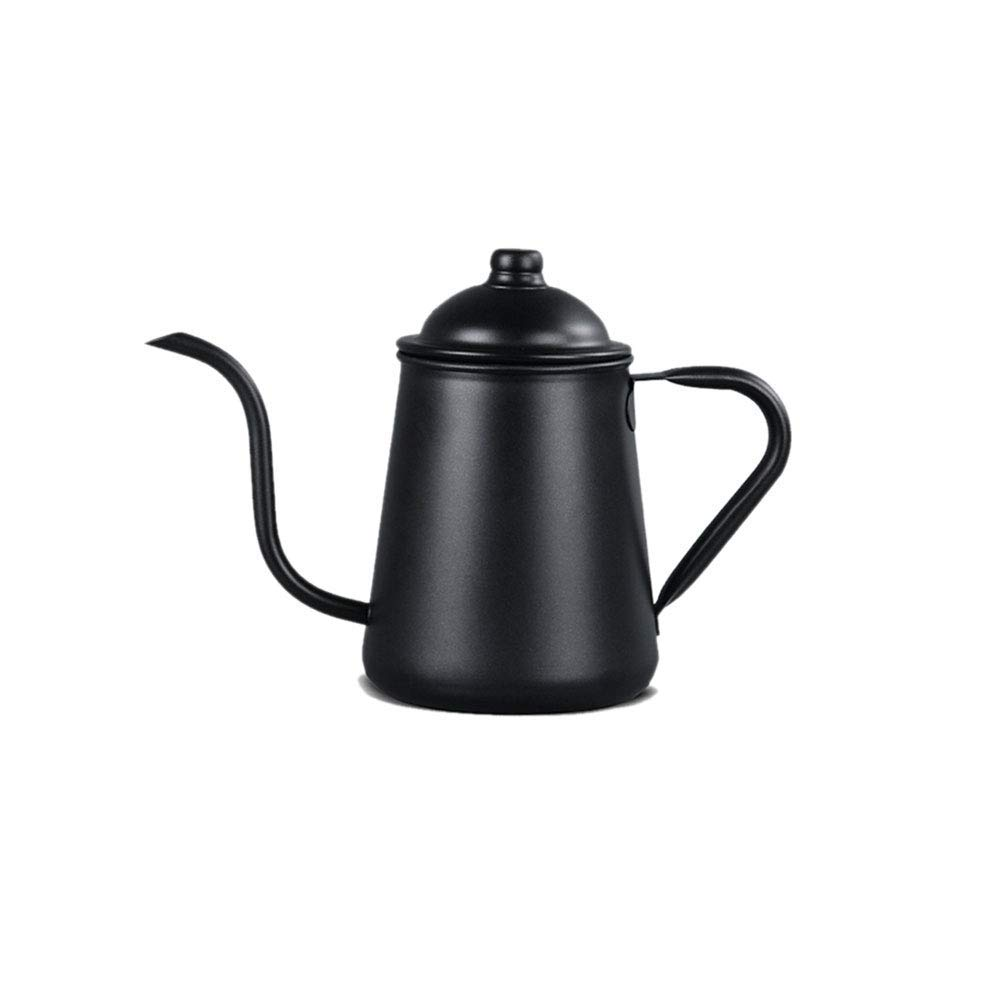Stainless Steel Hand-washing Pot Coffee Pot Fine Mouth Pot Long Mouth Pot Drip Tea 21.5x17.5cm