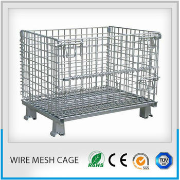 Large Wire Mesh Storage Bins