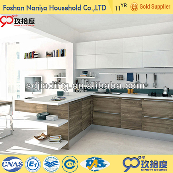 china cheap price kitchen pantry cabinet with electrical