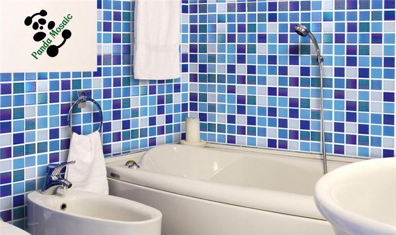 mb smh20 goedkope groothandel decoratieve blauwe mozaïek wandtegel, Badkamer