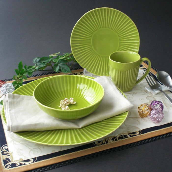 Japanese porcelain briht green shinogi porcelain dinner set & Japanese Porcelain Briht Green Shinogi Porcelain Dinner Set - Buy ...