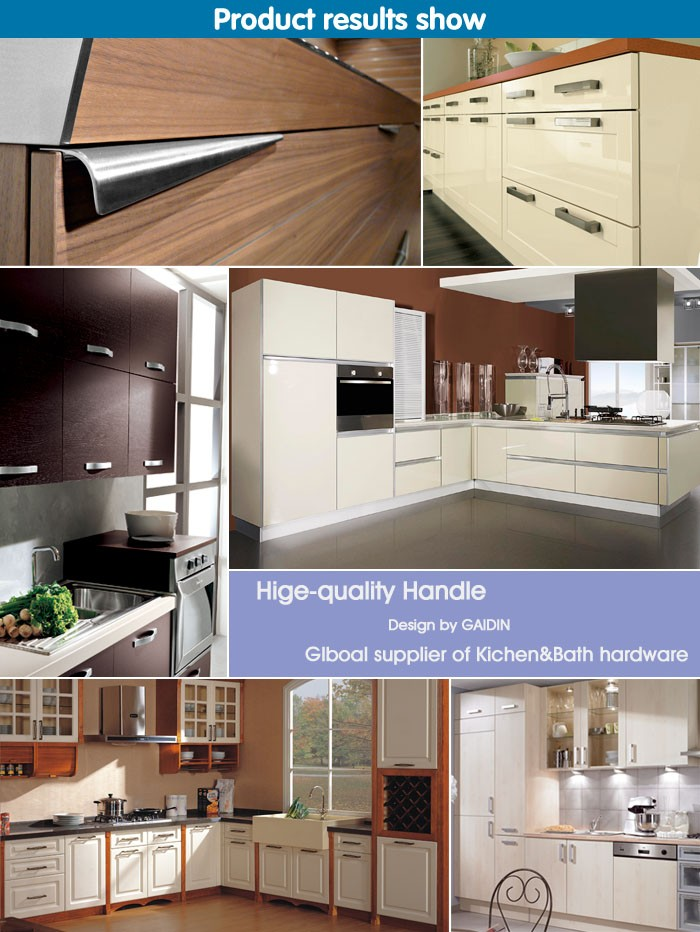 Popular in vietnam and philippines g shape hidden aluminum for Aluminum kitchen cabinets in the philippines
