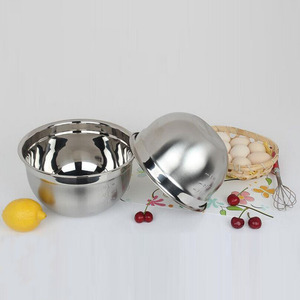 18/8 Mutil-use Nesting Mixing Bowl Stainless Steel Bread Mixing Bowls