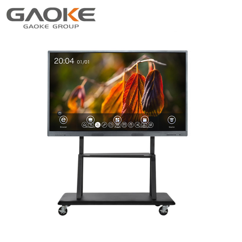 teaching 55 65 75 86 98 inch multi touch monitor digital whiteboard all in one with PC and TV function