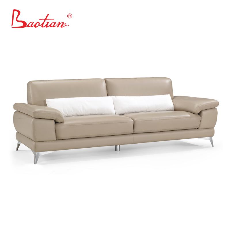 Baotian Furniture 3 Seater Leather Sofa
