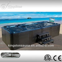 Outdoor Mini Above Ground Swimming pool with Fiberglass