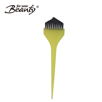 Yellow Color Grip Hair Tint Brush For Hair Coloring - Buy Brush For ...