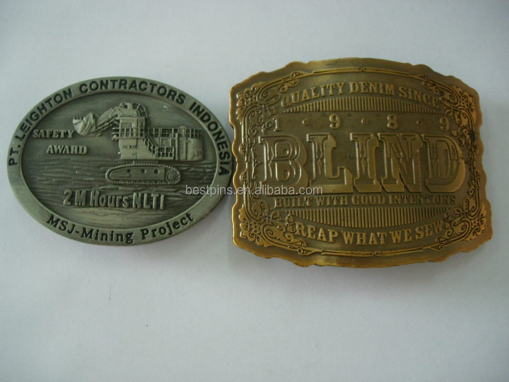 Heavy Duty Locking Custom Wholesale Big Size Belt Buckle with Clip