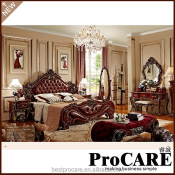 American Modern Style Royal Furniture Antique Girls Bedroom Sets ...