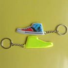 Promotion Customize Converse Shoes Style Soft PVC Reflective Keychain &Bag Pendant