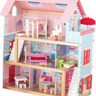 FQ brand latest custom wholesale new style fashion doll furniture children education design toys wooden doll house