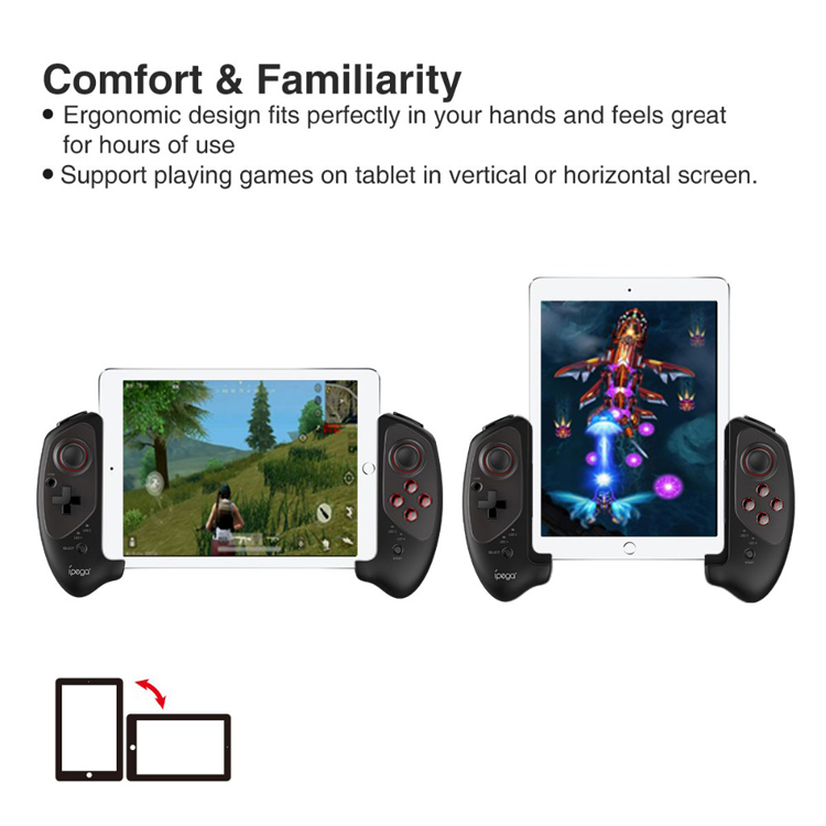 Ipega PG-9083 Telepon Nirkabel Gamepad Android Joystick untuk Bluetooth Smartphone/Tablet PC/Switch/Android/Ios/ window