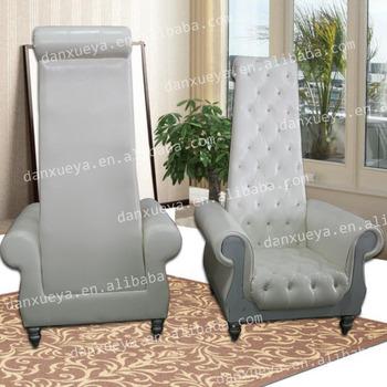 Danxueya Antique Long Back White Sofa Chair Of Hotel Chairs
