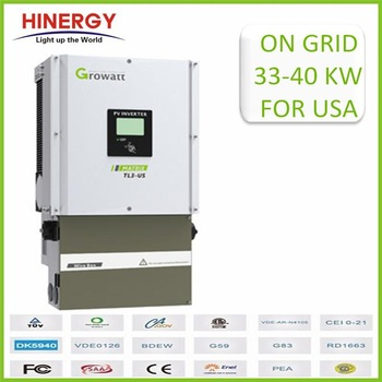 High quality low price 50KW solar grid tie three phase power inverter