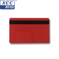 Magnetic stripe RFID blank printing smart PVC id card