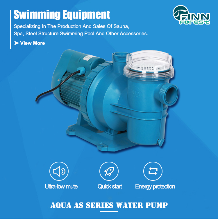 Swimming Pool Water Suction Domestic Use Pool Water Pump