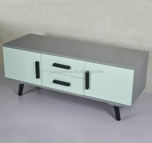 Wondrous Old Style Grey Wooden Lcd Tv Stand Living Room Furniture With 2 Drawers 2 Doors Download Free Architecture Designs Grimeyleaguecom