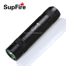 Rechargeable Supfire S7 Mini LED Flashlight Strong Light Torch Color black, rose and gold