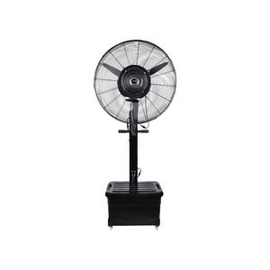 "Chinese 650 750 mm 26 30 "" Inch Outdoor 220V 120V 110V Home Industrial Electric Pedestal Mist Humidifier Stand Fan with Water"